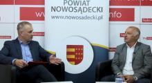 Rozmawiamy z Markiem Kwiatkowskim, starostą nowosądeckim