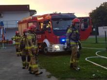 Policja i straż pożarna. Co się działo nad ranem na stadionie Sandecji