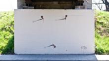 Graffiti na ulicy Węgierskiej