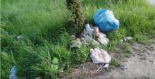 Miejsce kultu: Matka Boska a obok worki pełne śmieci [FILM]