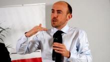 Wyklaskali PiS-owca na spotkaniu z szefem PO Borysem Budką