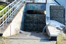 Zamknięto przejście pod wiaduktem na ulicy Zielonej