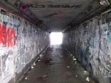 ulica Zielona tunel