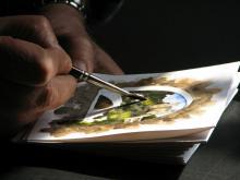Malarka Agata Kuś: zamiast po pędzel sięgnęłam po długopis