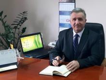 Jan Golonka wójt gminy Łososina