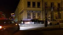 Wypadek na skrzyżowaniu ulic Jagiellońskiej i Mickiewicza
