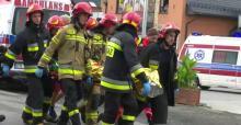 Świniarsko. Wypadek autobusu z uczniami pod Nowym Sączem. Jedna osoba zmarła