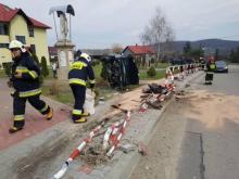 Cud w Michalczowej. Boska opatrzność uratowała ludzi przed masakrą na chodniku [ZDJĘCIA]