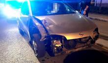 Nie dość, że jechał uszkodzonym samochodem bez świateł, to jeszcze był pijany