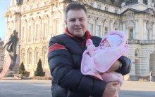 Wojciech z córką