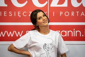 Miss Polski 2012 Kasia Krzeszowska zachwyca urodą. Kibicuje pięknym sądeczankom