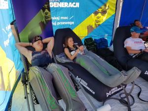 Strefa Regeneracji: tu stawiamy zawodników Festiwalu Biegowego na nogi