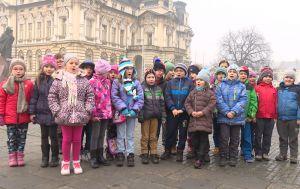 Dzieci ze szkoły numer 8