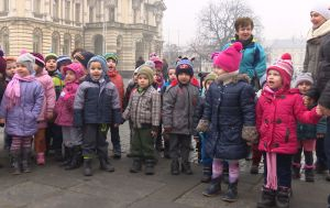 Dzieci z przedszkola nr 20