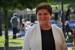 Beata Szydło na Sądecczyźnie. O szczepieniach, kryzysie w UE i Podhalańczykach