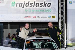 Krzysztof Konar w czołówce! Udany rajd w wykonaniu sądeckiego kierowcy