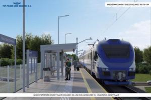 Chełmiec: z tej stacji PKP podróż do Krakowa zajmie ledwie godzinę!