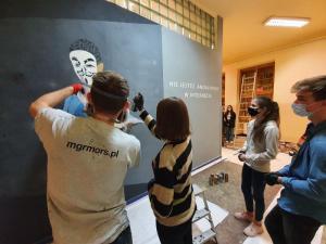 Nowy Sącz: Jak powstrzymać hejt? w I LO powstaje mural tematyczny [WIDEO]