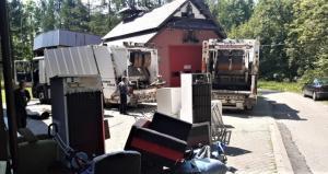 Czerwcowa zbiórka odpadów w Korzennej. Co najczęściej wyrzucają mieszkańcy?