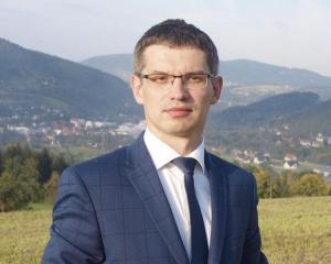dr Paweł Ptaszek, wójt gminy Tymbark, fot. UG w Tymbarku