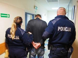 Nie spodziewał się wizyty policjantów. Może trafić nawet na 10 lat do więzienia